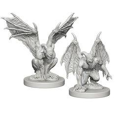Dungeons And Dragons: Nolzur's Marvelous Unpainted Miniatures - Gargoyles