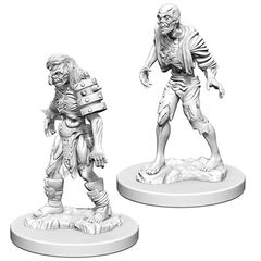 Dungeons And Dragons: Nolzur's Marvelous Unpainted Miniatures - Zombies