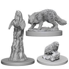Pathfinder Deep Cuts Unpainted Miniatures: Familiars