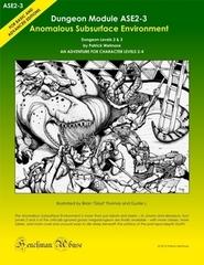 Anomalous Subsurface Environment ASE2-3