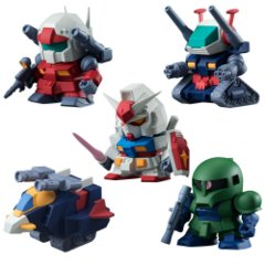 MOBILE SUIT GUNDAM BUILD MODEL Series 3