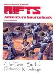Rifts RPG: Adventure Sourcebook One: Chi-Town Burbs