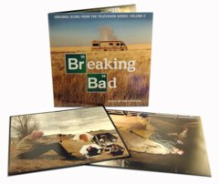 Breaking Bad Original Television Score Volume 2 Double LP w/ Poster
