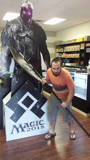 Come take a selfie with Garruk tonight at the Magic 2015 prerelease!