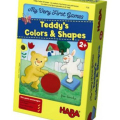 Teddy's Color & Shapes (My Very First Games)