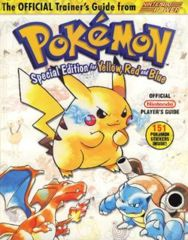 Pokemon Yellow, Red, and Blue Guide (Gameboy) - SE