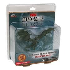 D & D Attack Wing: Shadow Black Dragon Expansion Pack
