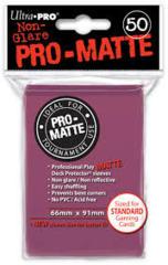 50ct Pro-Matte Blackberry Standard Deck Protectors