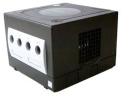 Gamecube Black - 3rd Party Parts - (Nintendo)