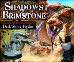 Shadows of Brimstone: Dark Stone Hydra XL-Sized Enemy Pack