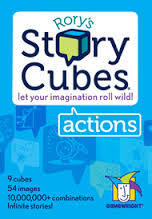 rory's story cubes actions bag