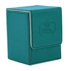 Teal Flip Deck Case - Xenoskin - 100+ (Ultimate Guard)