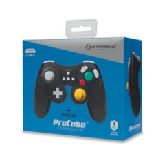 Black ProCube Wireless Controller - Hyperkin (Wii U)