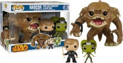 #3 Rancor with Luke & Slave Oola Vinyl Figure 3-Pack