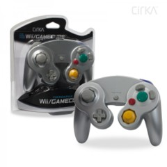 Cirka Silver Controller - Wired (Wii/Gamecube)