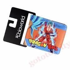 Dragonball Z SS Goku God Bifold Wallet