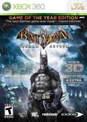 Batman - Arkham Asylum (Xbox 360)  - GotY