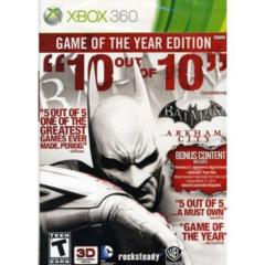 Batman - Arkham City (Xbox 360) - GotY