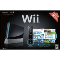 Nintendo Wii Bundle Black