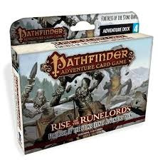 Pathfinder Adventure Card Game: Rise of the Runelords Fortress of the Stone Giants Adventure Deck