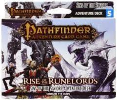 Pathfinder Adventure Card Game: Rise of the Runelords Sins of the Saviors Adventure Deck