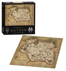 The Elder Scrolls V: Skyrim Map (550 piece Puzzle)
