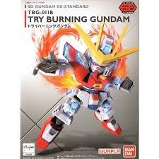 011 Try Burning SD EX Standard Gundam Wing Model