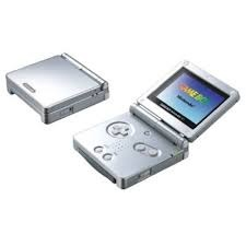 Gameboy Advance Sp Silver