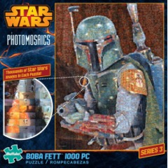 Bobba Fett - Star Wars Photomosaics (1000 Piece Puzzle)
