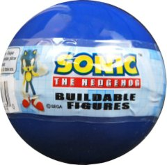 TOMY Gacha Ball - Sonic the Hedgehog (Buildable Figure)