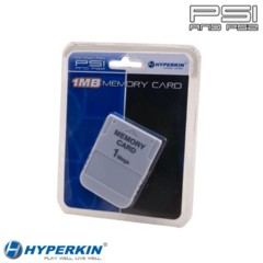 PS1/PS2 1 MB Memory Card (Hyperkin)