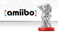 Mario - Super Smash Bros. - Amiibo (Nintendo) - Silver Edition