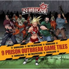 Zombicide 9 Prison Outbreak Game Tiles