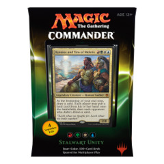 Stalwart Unity - Commander Deck - Red Green White Blue - 2016