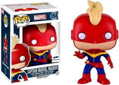 #154 - Captain Marvel Masked (Marvel) - GTS Exclusive