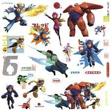 Wall Decals Big Hero 6 (Peel&Stick)