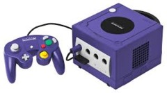 Gamecube Purple - Original Parts (Nintendo)
