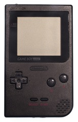 Game Boy Pocket Handheld System: Black