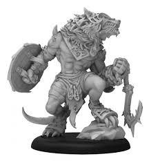 Circle Orboros: Loki Warpwolf Heavy Warbeast