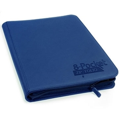 Blue 8-pocket ZipFolio Binder (Ultimate Guard)
