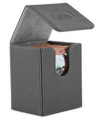 Grey Flip Deck Case - Xenoskin - 100+ (Ultimate Guard)
