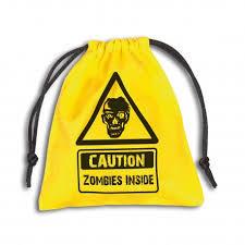 Zombies Inside Dice Bag (Q-Workshop)