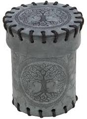 Dice Cup: Forest - Suede Graphite