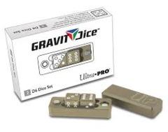 Gravity Dice 2 D6 Dice Set -  Desert (Ultra Pro)