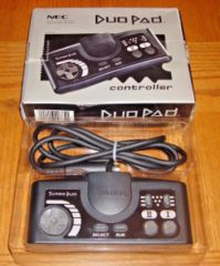 NEC DuoPad Controller (Turbo Duo/TurboGrafx-16 NTSC US Model)