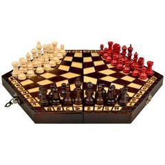Chess Set: Classic Chess for 3 - Medium