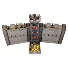 Dice Tower: Castle Tower with DM Screens