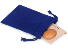 Velvet Dice Bag - Large (Royal Blue)