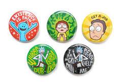 Pins: Rick and Morty