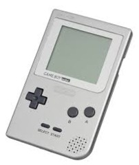 Game Boy Pocket Handheld System: Silver